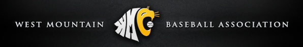 West Mountain Baseball Association Logo